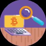 Zahlungen mit Bitcoins